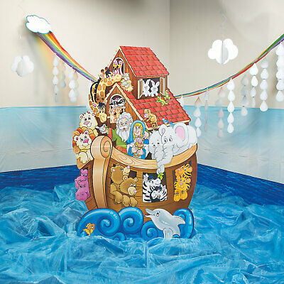 Noah'S Ark Cardboard Stand-Up - Party Decor - 1 Piece