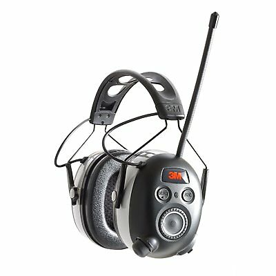 3m 90542-3dc Worktunes Black Wireless Hearing Protector Bluetooth Amfm Radio