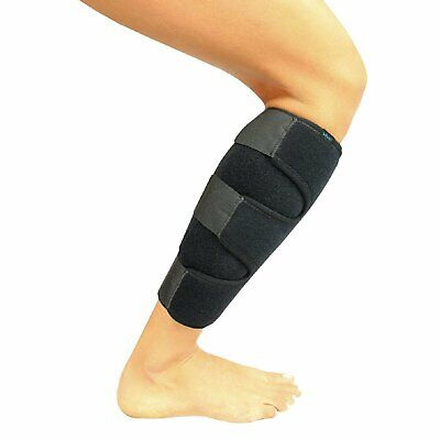 Calf Compression Wrap Brace Adjustable Shin Splint -1 Piece Black Label Health & Beauty