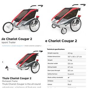 Thule chariot carrier cougar2