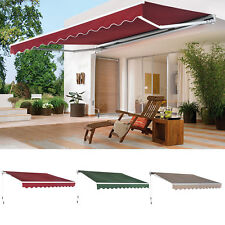 Patio Awning Canopy Retractable Deck Door Outdoor Sun Shade Shelter