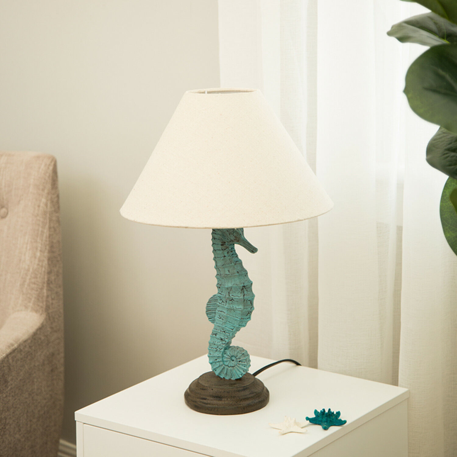 seahorse cyril bedroom table lamp p with pin