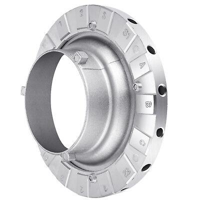 Neewer Bowens Speed Ring Speedring Adapter for Speedlite Flash Strobe (Strobe Speed Ring)