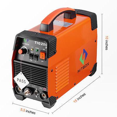 200amp Tig Welder 220v Tig Mma 200 Tig Stick Igbt High Frequency Welding Machine