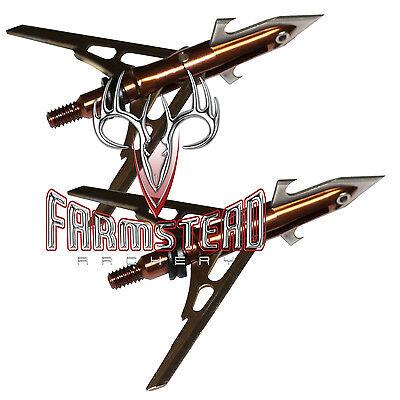 $29.99 - Rage 4-Blade Expandible Broadhead Turkey X-Treme 2 1/8
