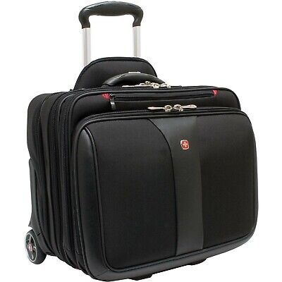 Wenger Swissgear Patriot 2 pc Wheeled Computer Laptop Carrying Case -