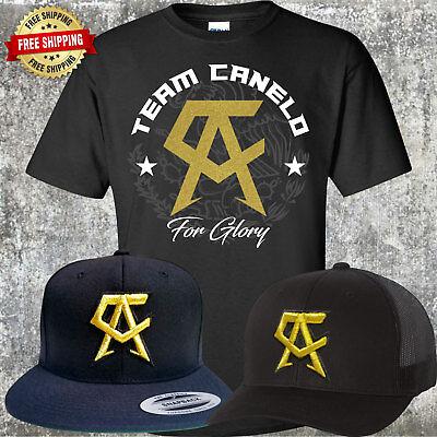 Canelo Saul Alvarez Hat With Free T Shirt    Choice Of Trucker Or Snapback