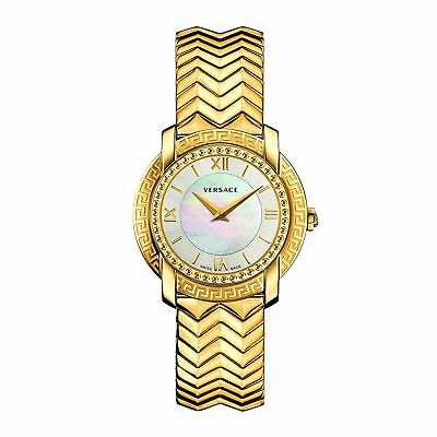 Versace VAM040016 Women's DV25  Gold-Tone Quartz Watch