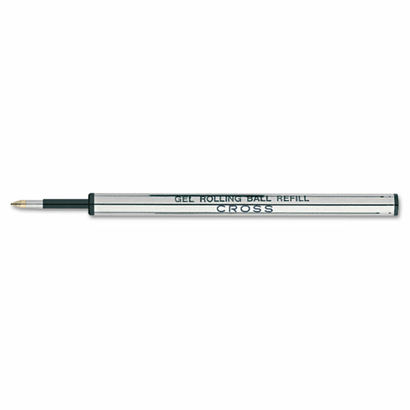 Cross Refills for Selectip Gel Roller Ball Pen Medium Blue Ink 8521