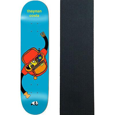 "Enjoi Skateboard Deck Thaynan Hip Huggers Impact Light 8.0"" with Grip"