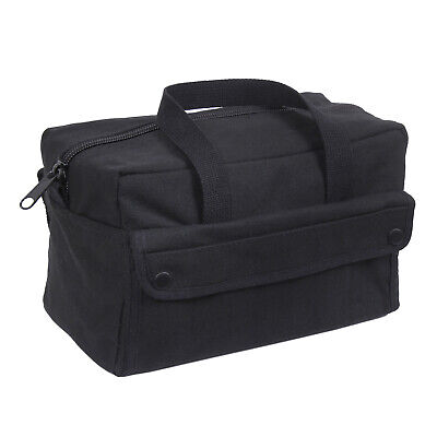 Black Heavyweight Military Mechanics Standard Tool Bag Free Shipping  Black Mechanics Tool Bag
