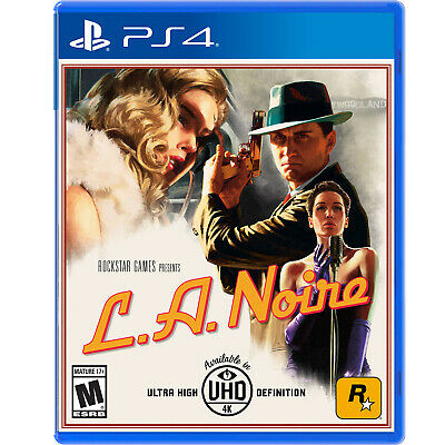 L.A. Noire PS4 [Factory Refurbished]
