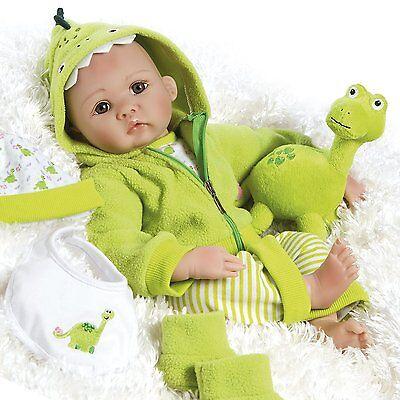 Realistic Handmade Reborn Baby Doll Boy Newborn Lifelike Soft Vinyl Weighted
