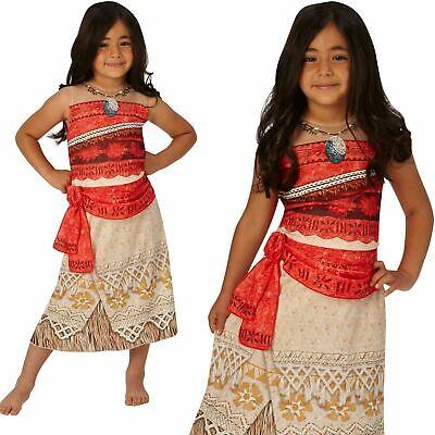 Klassisch Moana Kostüm Hawaii Disney Prinzessin Mädchen Kostüm Buch Tag - Klassische Buch Kostüm