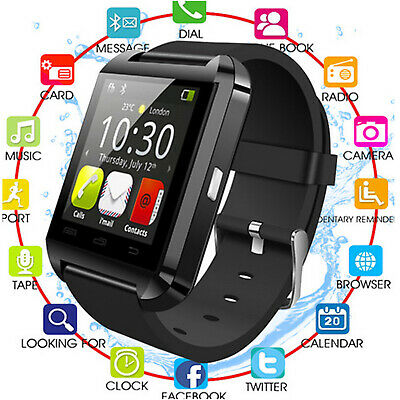 New Bluetooth Smart Watch Men Women For Samsung Android iPhone Monitor Sports UK