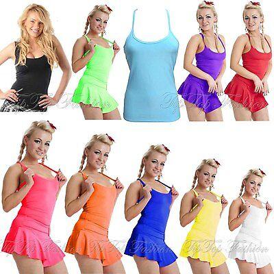 Damen Damen Kinder Dehnbar Ärmelloses Top Racerback Party Tanz Kleidung - Business Kleidung Kostüm