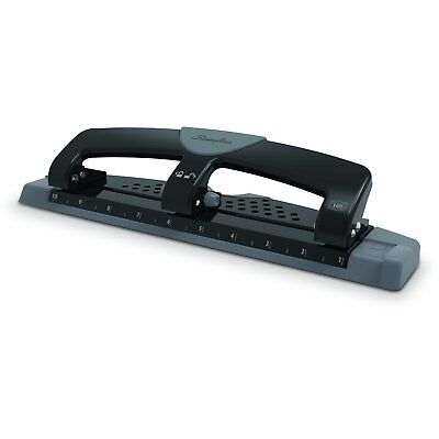 Swingline Smarttouch 3 Hole Low Force Punch 12 Sheet Capacity Item74134