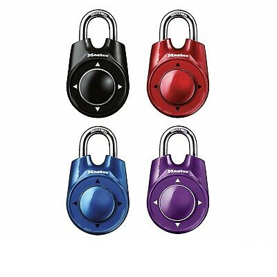 Master Lock Speed Dial Combination Lock 4 Colors Available Usa Shipping