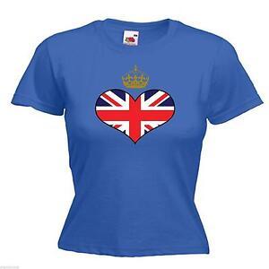 Ladies Union Jack T Shirts 809e2c4a6
