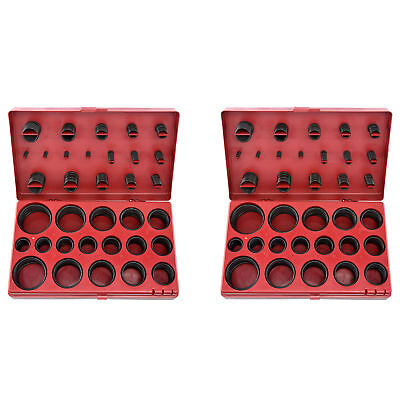 New 826pc Mm Sae Universal O-ring Oring Gasket Assortment Kit W Storage Case
