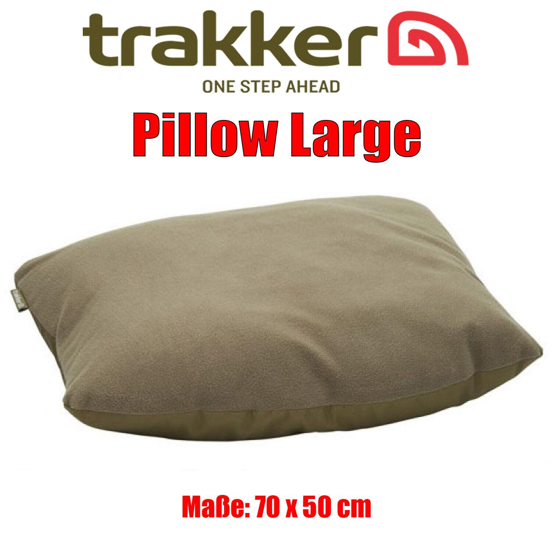Trakker Pillow Large Kopfkissen - Fleece / Polyester - sehr weich und angenehm