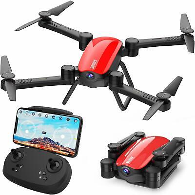 SIMREX X900 Drone Optical Flow Positioning RC Quadcopter with 1080P HD (RED)