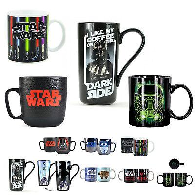 *Auswahl* Star Wars Kaffeebecher Tasse Geschenk StarWars Darth Vader Wärmeeffekt ()
