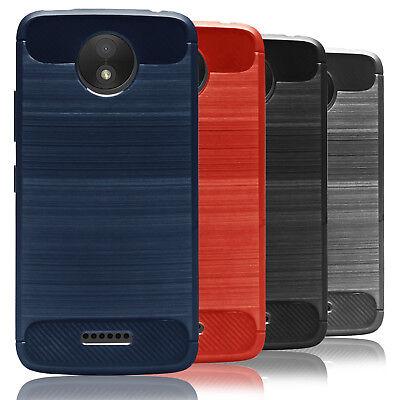 Schutz Hülle für Motorola Moto C Plus Case Handyschale Bumper Tasche Back Cover