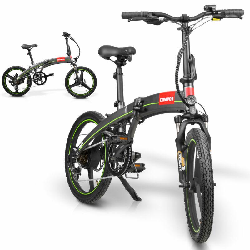 Hecht Compos E-Bike Fahrrad Klappfahrrad 20 Zoll Elektrofahrrad Klapprad Faltbar