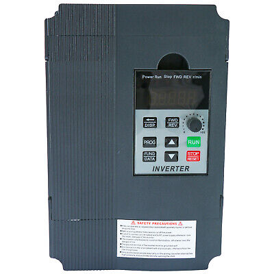 Hot 2.2kw 220v Single Phase Variable Speed Control Drive Converter Us Stock