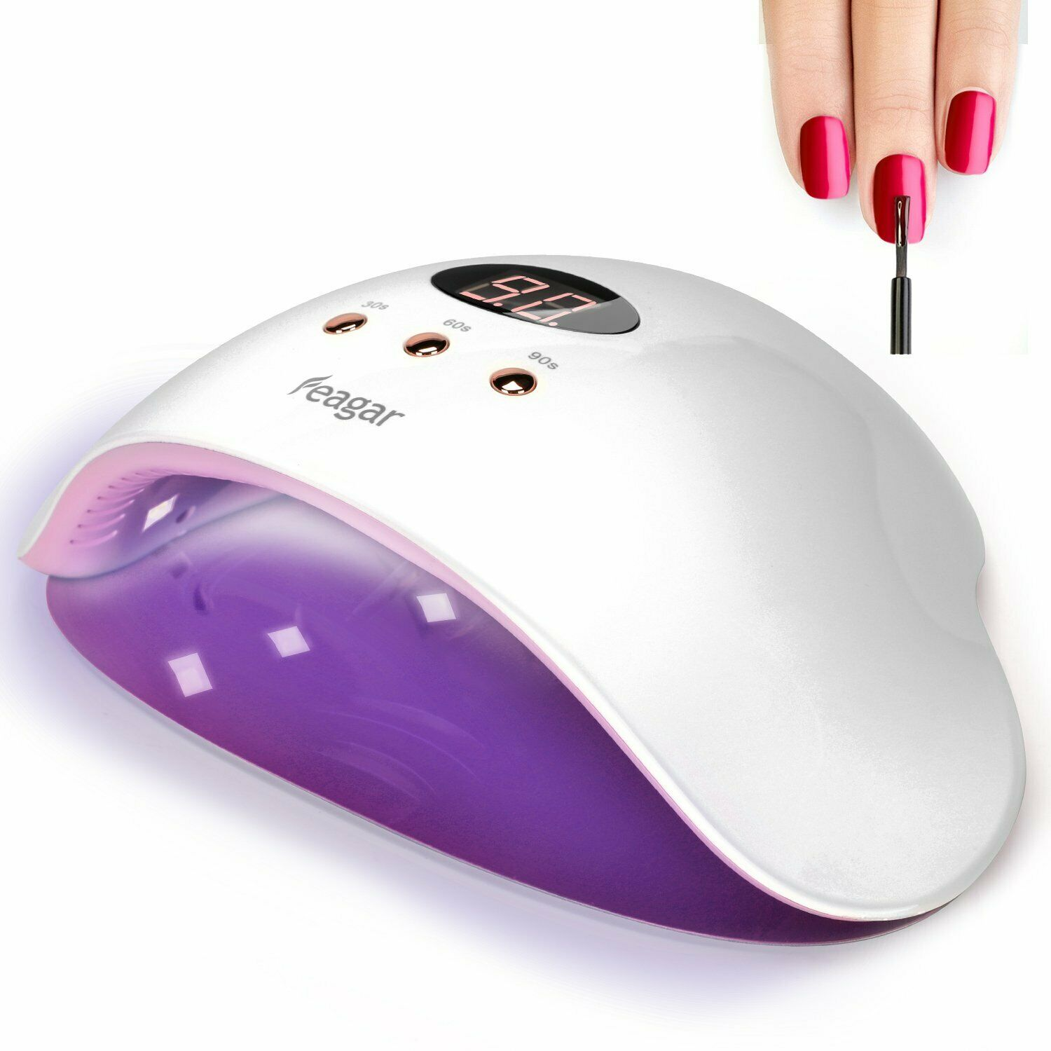 Professional uv/ led Nail Dryer Gel Nail Polish Light with A