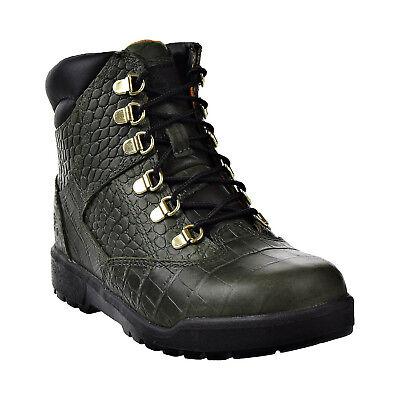 """Timberland 6"""" Field Boot Premium # TB0A1QAU Crocodylian Green Big Kids SZ 4 - 7"""