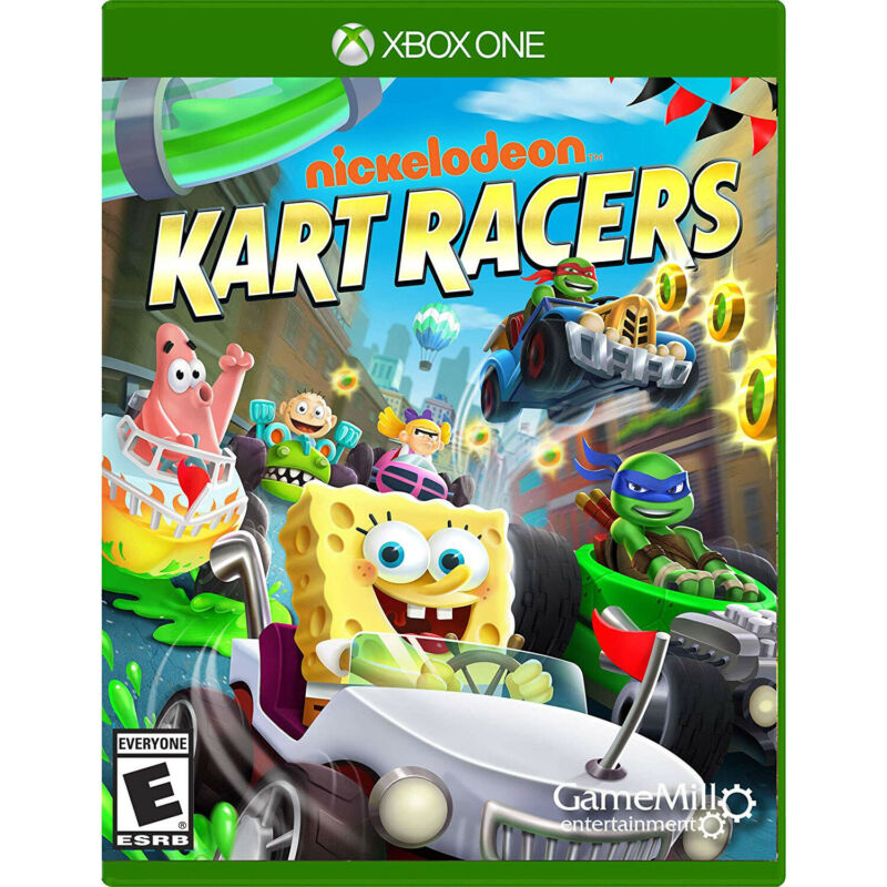 Nickelodeon Kart Racers Xbox One [Brand New]