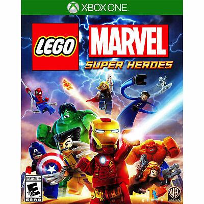 XBOX ONE LEGO MARVEL SUPER HEROES BRAND NEW VIDEO GAME comprar usado  Enviando para Brazil