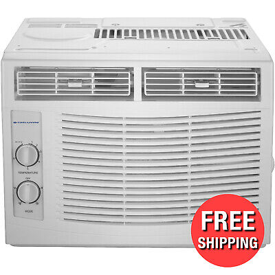 Window Air Conditioner 5000 Mini Compact Size AC Unit 115V W