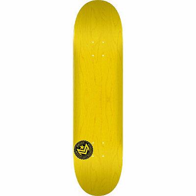 "Powell Mini Logo Skateboard Deck Chevron Stamp 12 K20 Yellow 8.5"" x 32"""