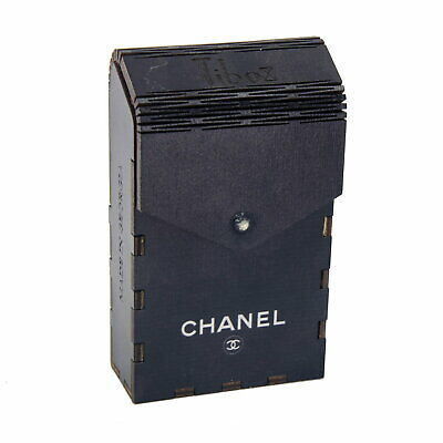 CHANEL - VINTAGE CIGARETTE CASE - Case Engravin 100's - Antique bag - BEST 2020