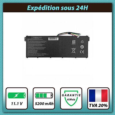 Batterie 2600mAh pour Acer Aspire E11 / Aspire E15 / Aspire E15...