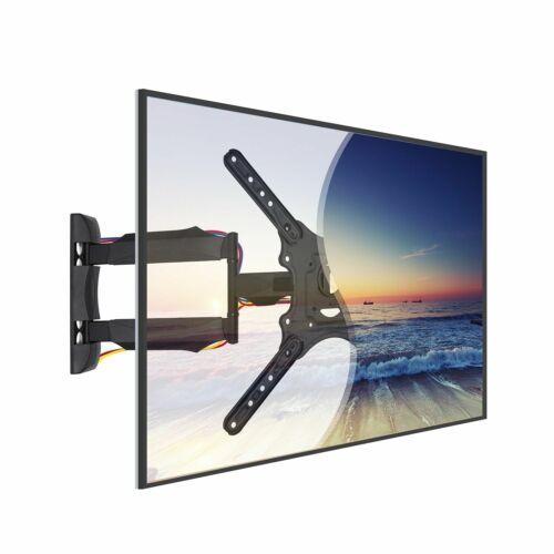 Articulating Full Motion TV Wall Mount Tilt Swivel 360° For