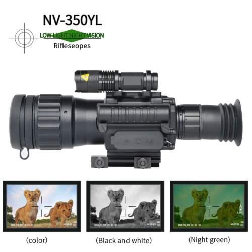 Sniper 4.5x50 Digital Day/Night Vision Scope Rifle Scope Infrared IR Camera