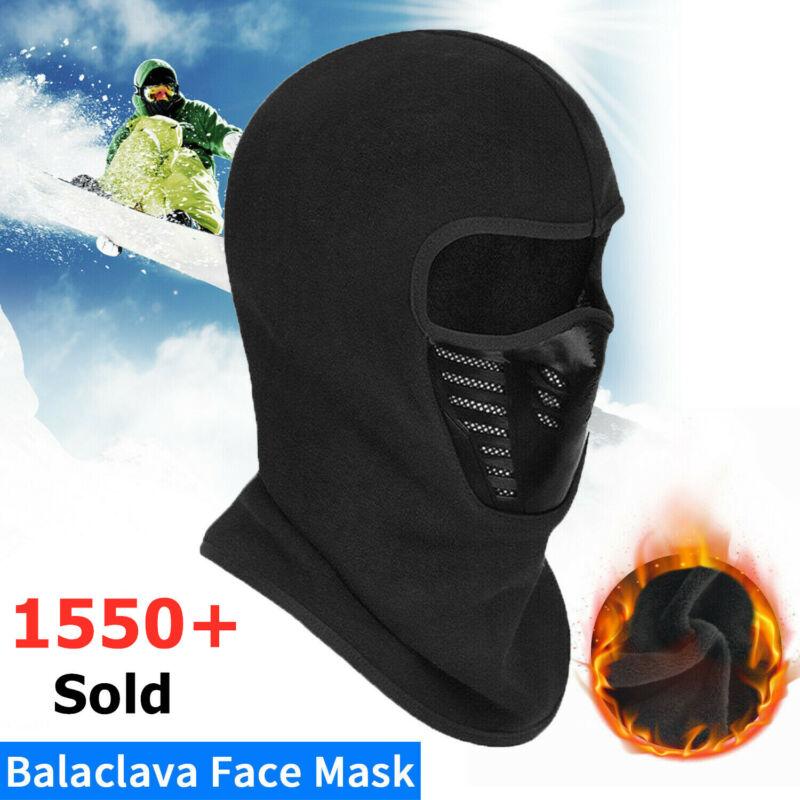 Balaclava Full Face Mask Outdoor Winter Windproof Fleece Ski Bicycle Ninja Mask