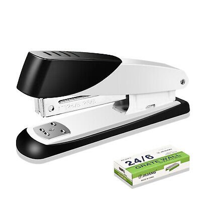 Desk Paper Stapler 1000 Staples Commercial Manual Office Desktop Heavy Duty New