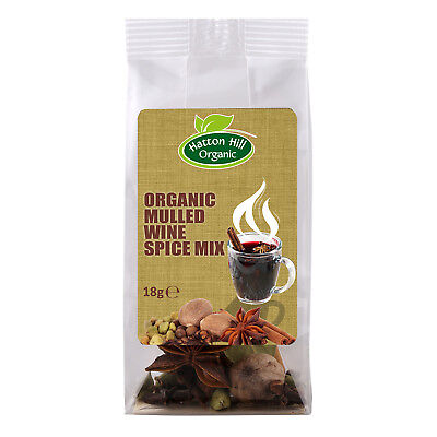 (Organic Mulled Wine Spice Mix 18g Certified Organic)