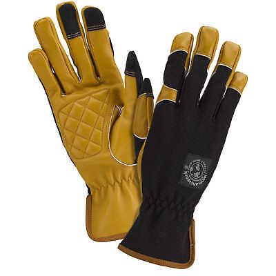 Womanswork Leather Palm Work Gloves Small