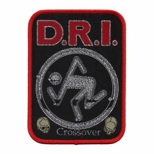"""DRI """"Crossover"""" Patch cryptic slaughter-municipal waste-slayer-minor threat-sod"""
