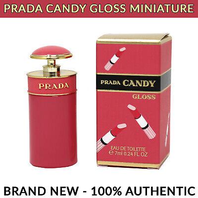Prada Candy Gloss Prada for Women Eau de Toilette Miniature Splash 7ml BRAND (Prada Brands)
