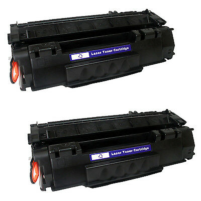 2PK Q7553A Toner Cartridge For HP LaserJet P2015 P2015D/P2015DN/P2015N/P2015X