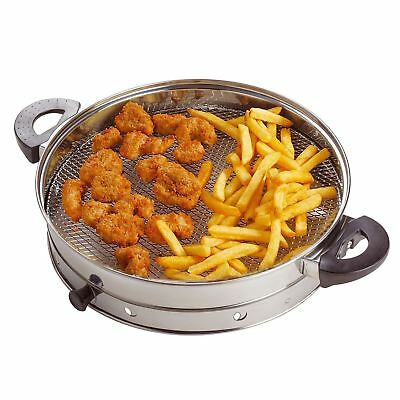 NEW AIR FRYER RING ATTACHMENT ACCESSORY FOR HALOGEN OVEN FRYING GRILLING COOKING