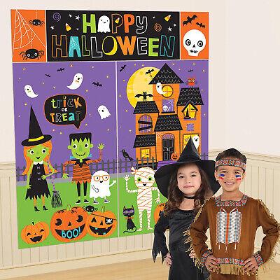 Halloween Kinder Scene Setter Wand Poster Kinder Niedliches Halloween Dekoration Halloween-dekoration Kinder