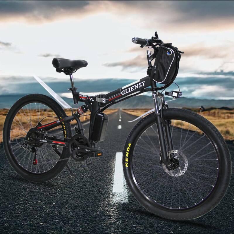 350W 26'' 21 Speed  E-bike City Mountain Bicycles Folding El